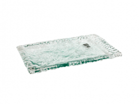 Granulated glass tray Florence