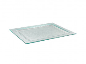 32 cm glass tray