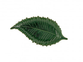 Green leaf tray