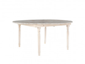 Sicily wooden round table