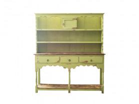 Green buffet furniture