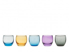 Colored ball glass