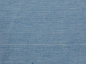 Light blue fine linen napkin